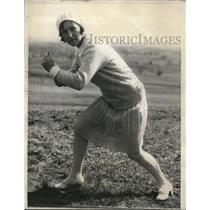 1930 Press Photo Shirley Casebrier, President University of Kansas Cheerleaders
