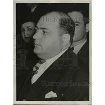 1939 Press Photo Charles V Carella Kansas Citys No. 1 Gambling, Federal Court