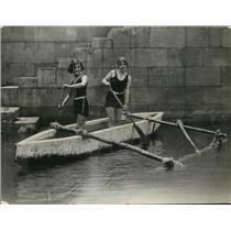 1925 Press Photo Rita Carita and Josephine