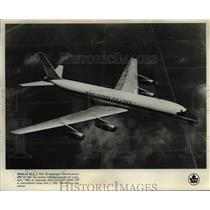1961 Press Photo Douglas DC-8 Trans-Canada Air Lines