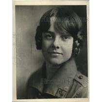 1929 Press Photo Girl Scout Miriam Strout, San Diego - nee33130