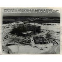 1964 Press Photo Vertical Assembly Building