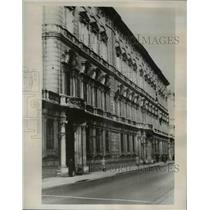 1938 Press Photo Historical Doria Palace Hilter Will Stay Here in Italy