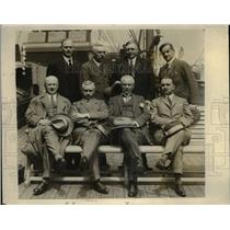 1926 Press Photo Foreign police officials at the International Police Conference