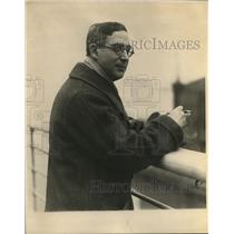 1924 Press Photo Nikolai Sokoloff conductor of Cleveland Orchestra
