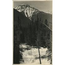 1925 Press Photo Glacier Natl Park McDonald Crook west side Continental Divide