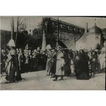 1921 Press Photo Scene at Kaiser's Funeral Procession in Germany