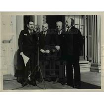 1938 Press Photo American Red Cross headquarters - nee39991