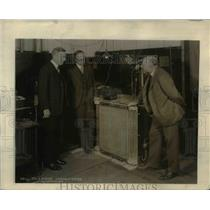 1927 Press Photo Dr. E.B.Craft, executive vice president and Dr. Arnold