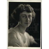 1920 Press Photo Mrs Stacy B Jones of Seattle WA