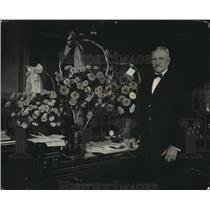 1923 Press Photo Gen. John J. Pershing in War Dept. celebrates his birthday