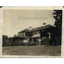 1921 Press Photo Former Ms De Morenschild Home Leased by Dr C Jenny Washington
