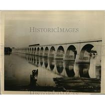 1925 Press Photo New picturesque bridge completed across Susquehanna River