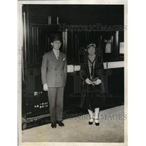 1928 Press Photo Prine & Princess Chichibu at Toyko Japan
