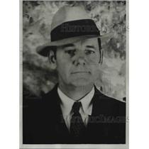 1935 Press Photo Deputy Warden Gallion of Oklahoma State Reformatory of Granite