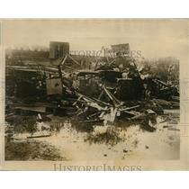 1926 Press Photo Luzano near Havana Cuba hurricane destruction