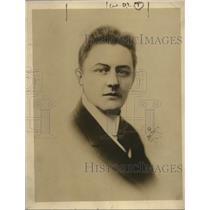 1924 Press Photo Ernest Davis Tenor of Kansas