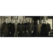 1922 Press Photo National Guard Meeting in Washington DC