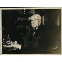 1918 Press Photo Dr John Duncan Quackrub psychic & hynotist