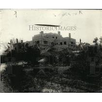 1920 Press Photo Herbert C Hoover Home at Palo Alto