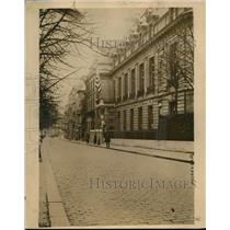 1919 Press Photo The present Paris France home of US Pres Wilson