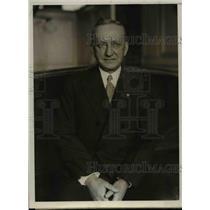 1930 Press Photo Dr C Jeff Miller professor of gynecology at Tulane University