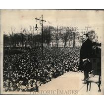 1923 Press Photo Professor Walter Schucking at the Reischtag protest - nex81537