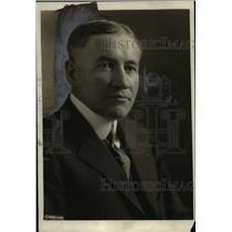 1921 Press Photo Rev Dr Wm. Abernathy pastor First Baptist Church Kansas City