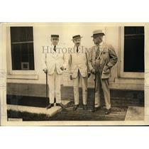 1922 Press Photo WL Mackenzie King Canadian Prime Minister Henry Getty Chilton