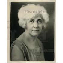 1928 Press Photo Mrs. Bernice Pyke Pres. Womens Democratic Club of Cleveland