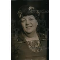 1920 Press Photo Mrs Agnes Lunn - nex80302