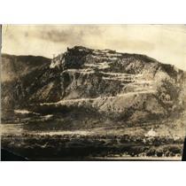 1925 Press Photo Cheyenne Mountains 9000 Feet to the Summit