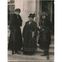 1921 Press Photo Mrs. Herman A Vedder, Mrs. Chas A Neisol, Mrs Arthur D. Church