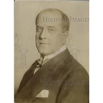 1910 Press Photo Andrew Middleton Lawrence Journalist of San Francisco