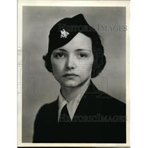 1938 Press Photo Mabel Harmon Stewardess American Airlines