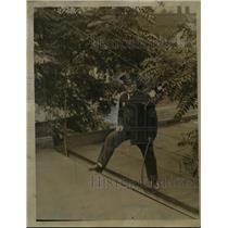 1923 Press Photo Deputy Dog Warden Walter Slaughterback.