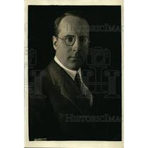 1921 Press Photo Baron Edmund von Thermann German Chancellor