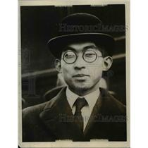 1927 Press Photo Prince Yosuito Chichibu son of late Mikado. - nee47275