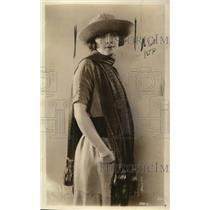 1921 Press Photo Moorehead hat & scarf fashions for Spring & Summer - nex81500
