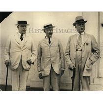 1922 Press Photo WL Mackenzie King Premier of Canada with Henry Chilton