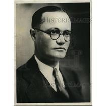 1932 Press Photo John M Picco Italian Consular Agent at Springfield Illinois