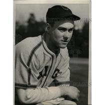 1940 Press Photo Pasadena Calif Bob Kennedy White Sox spring training