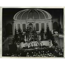 1932 Press Photo Women Vets Hold Convention in Church in Seattle