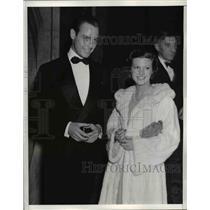 1936 Press Photo Jimmy Blakley and Marjorie Gage.