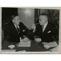1937 Press Photo Robt, Ihnd(L) & S. Otlex National Assoc. of Manufacturers