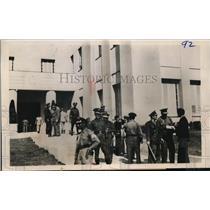 1945 Press Photo National Police Guard the Havana, Cuba  - nee56703