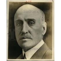 1925 Press Photo Jose Serrati President of Uruguay in Latin America  - nee55818