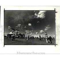 1982 Press Photo Cleveland National Air Show 1982