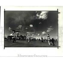 1982 Press Photo Cleveland National Air Show 1982