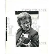 1984 Press Photo Eleanor Rodriguez